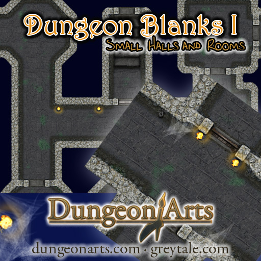 Cover Map of Dungeon Blanks 1
