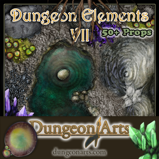 Dungeon Elements 7 Cover
